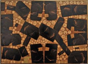 Francisco Herrero Peñuela, Incrustaciones, 84 x 62 cm. 2013.