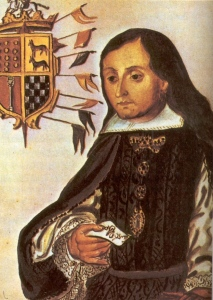 D José Sarmiento Virrey criollo de México, Conde de Moctezuma y Tula.