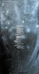 Aimee Joaristi, Fantasma, mixta, 227x123cm, 2013