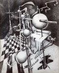 Aimee Joaristi, grafito sobre papel, 28 x 23 cm. 1976