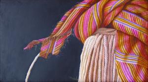 Estropajo, óleo sobre tela,, 0.70 x 0.90 m. 2005.